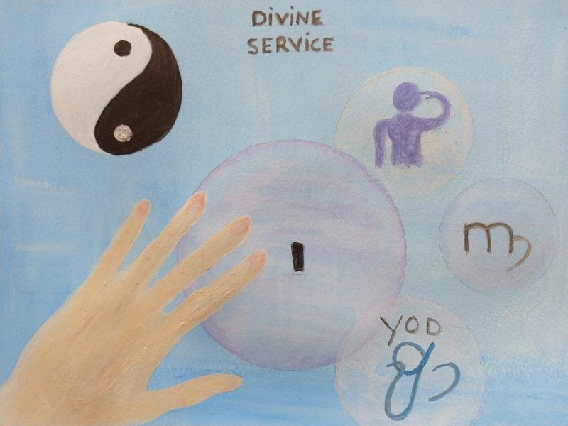 creatiecode-10-Divine Service-Spirituele kracht-connectie en vaardigheden